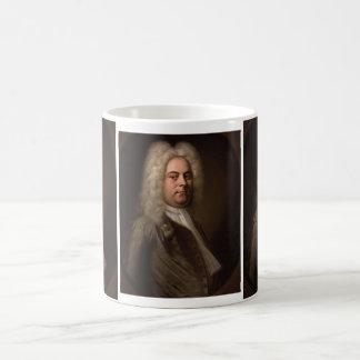 George Frideric Hanel av Balthasar Denner Kaffemugg