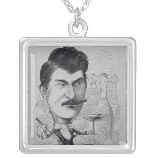 George Leybourne Silverpläterat Halsband