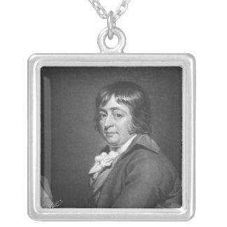 George Morland som inristas av William, avvärjer,  Silverpläterat Halsband
