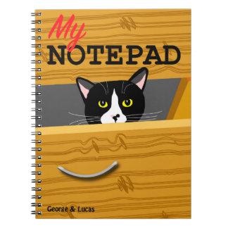 George och Lucas fotoanteckningsblock Anteckningsbok
