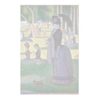 GEORGE SEURAT - En söndageftermiddag 1884 Brevpapper