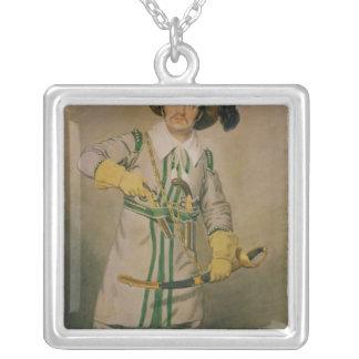 George smed som Schampt Silverpläterat Halsband
