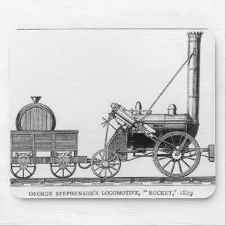 """George Stephensons lokomotiv, """"raket"""", 1829 Musmatta"""