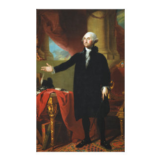 George Washington av Gilbert Stuart Canvastryck