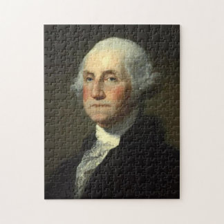 George Washington av Gilbert Stuart - Circa 1800 Pussel