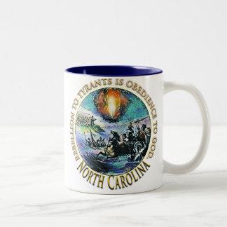 George Washington för North Carolina Teaparty mugg