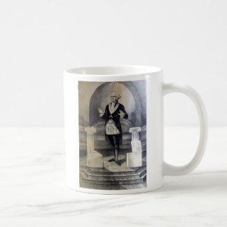 George Washington freemasonmugg Kaffemugg