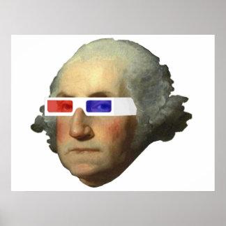 George Washington i affischen 3D Poster