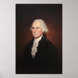 GEORGE WASHINGTON porträtt av Rembrandt Peale Poster
