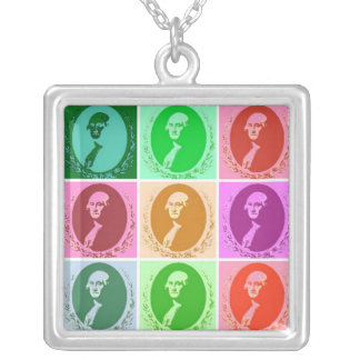 George Washington Silverpläterat Halsband