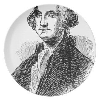 George Washington Tallrik