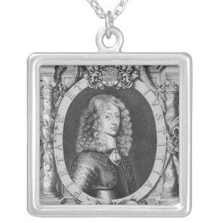 George William hertig av Braunschweig-Luneberg Silverpläterat Halsband