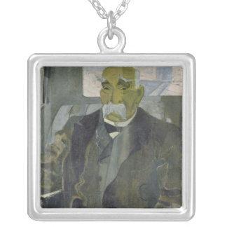 Georges Clemenceau 1928 Silverpläterat Halsband