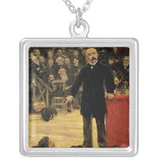 Georges Clemenceau Silverpläterat Halsband