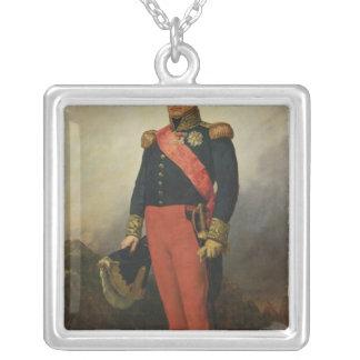 Georges Moutonräkning av Lobau, 1835 Silverpläterat Halsband