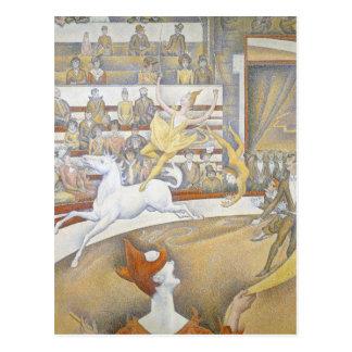 Georges Seurat - cirkusen Vykort