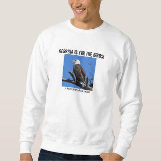 Georgia är eller fåglarna! långärmad tröja