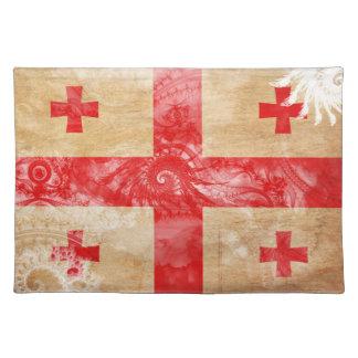 Georgia flagga bordstablett