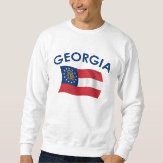 Georgia flagga lång ärmad tröja