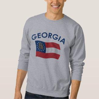 Georgia flagga långärmad tröja