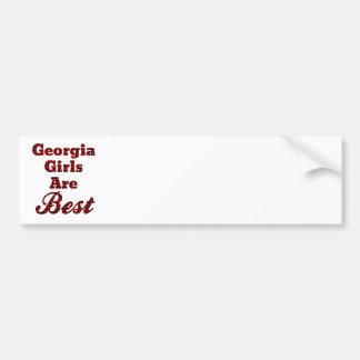 Georgia flickor är bäst bildekal