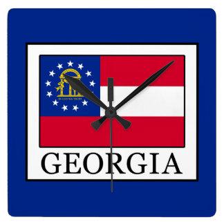 Georgia Fyrkantig Klocka