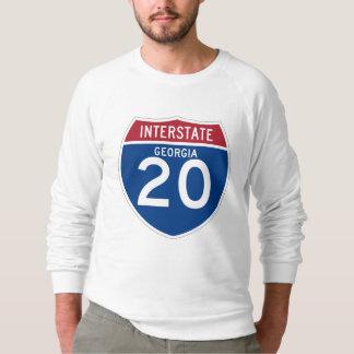 Georgia GA I-20 skyddar den Interstate huvudvägen Tee Shirt