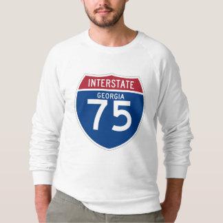 Georgia GA I-75 skyddar den Interstate huvudvägen Tee Shirt