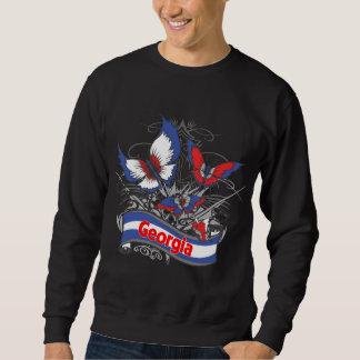 Georgia patriotismfjäril sweatshirt