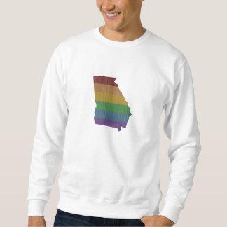 Georgia regnbågegay pride sweatshirt