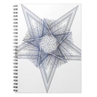 Geoscribble stjärna 1 anteckningsbok