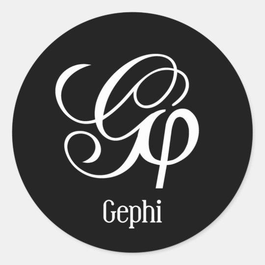 Gephi Runt Klistermärke