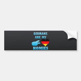 Germans är min Homies Bildekal
