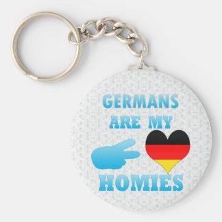Germans är min Homies Rund Nyckelring