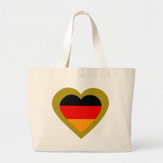 germany-heart-3. jumbo tygkasse