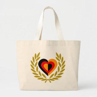 germany-laurel-heart-2. jumbo tygkasse