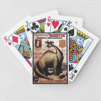 Gertie dinosauren spelkort