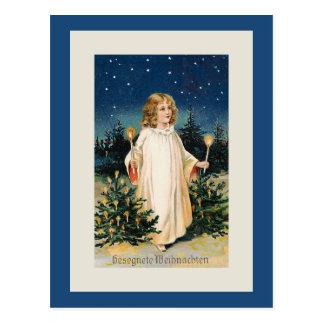"""""""Gesegnete Weihnachten"""" vintagejulkort Vykort"""