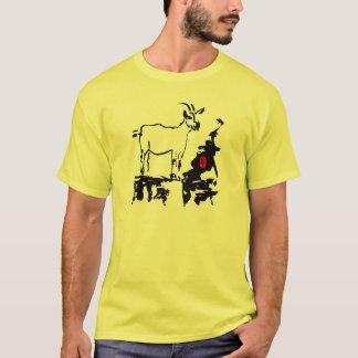 Geten vaggar den Lunar utslagsplatsen för manar Tee Shirts