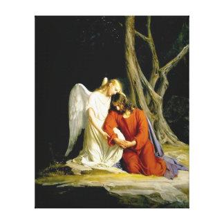 Gethsemane av Carl Heinrich Bloch 1805 Canvastryck