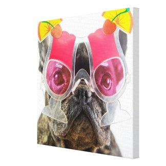 Getty avbildar den | hunden med canvastryck