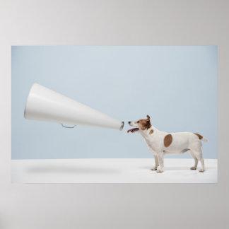 Getty avbildar | den talande hunden poster