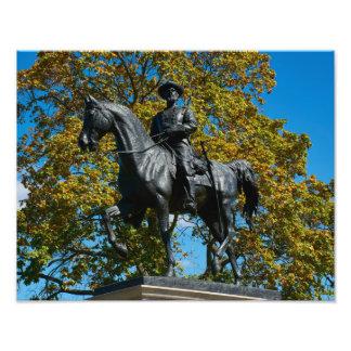 Gettysburg nationalpark - den Reynolds Fototryck