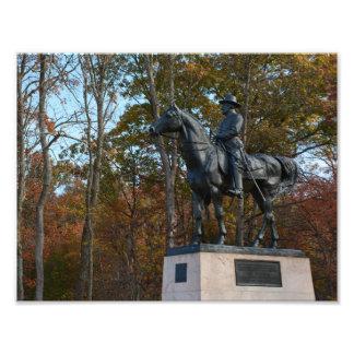 Gettysburg nationalpark - den Sedgwick Fototryck