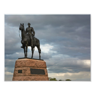 Gettysburg nationalpark - Meade minnesmärke Fototryck