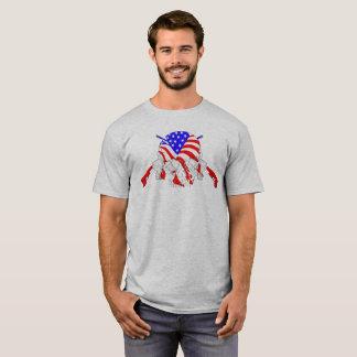 Gevär för amerikanskallekor t-shirt