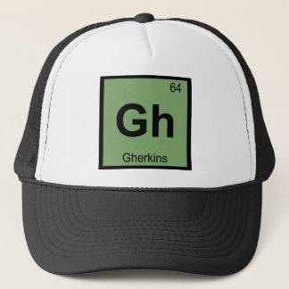 Gh - Symbol för bord för ättiksgurkakemi Truckerkeps