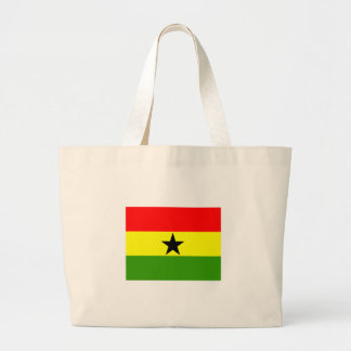 Ghana flagga jumbo tygkasse