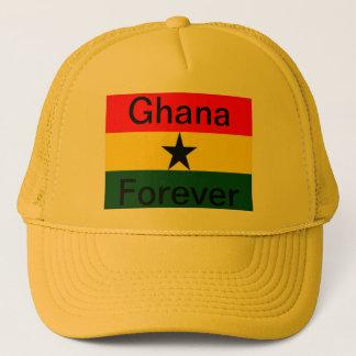 Ghana flagga keps