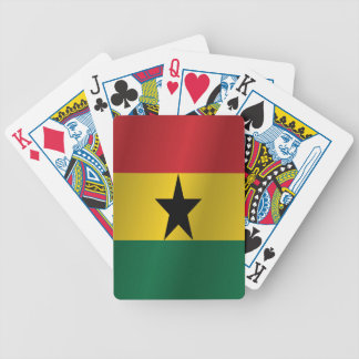 Ghana flagga spelkort